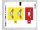 Part No: 60100stk01b  Name: Sticker Sheet for Set 60100 - North American Version - (24550/6133217)