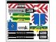 Part No: 60223stk01  Name: Sticker Sheet for Set 60223 - (44482/6248668)
