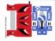 Part No: 6111stk01  Name: Sticker Sheet for Set 6111 - Sheet 1, Blue Renegade and Road Hero (56784/4297580)
