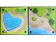 Part No: 6199603  Name: Paper, Playmat Friends Heartlake City, Double-Sided, Heartpool / Beach with Grasshearts (853671)