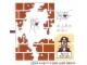 Part No: 6242stk01b  Name: Sticker Sheet for Set 6242 - Brown Bricks Version - (85064/4542477)