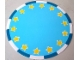 Part No: 62886  Name: Plastic Playmat Duplo, Circus Ring with Yellow Stars Pattern