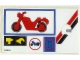 Part No: 6373stk01  Name: Sticker Sheet for Set 6373 - Sheet 1 (195985)