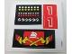 Part No: 6382stk02a  Name: Sticker Sheet for Set 6382 - Sheet 2 (192895) - Version 1