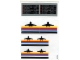 Part No: 6396stk01  Name: Sticker for Set 6396 - Sheet 1, Airplane Logos and Schedules (163155)