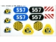 Part No: 6557stk01  Name: Sticker for Set 6557 - (71445/4106602)