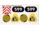 Part No: 6599stk01  Name: Sticker Sheet for Set 6599 - (71623/4107864)