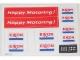 Part No: 6696stk01  Name: Sticker for Set 6696 - (196245)