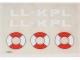 Part No: 6697stk01  Name: Sticker Sheet for Set 6697 - (196825)