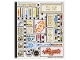 Part No: 70620stk02  Name: Sticker Sheet for Set 70620 - Sheet 2 (35364/6202601)