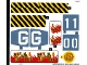 Part No: 70656stk01  Name: Sticker for Set 70656 - (36787/6213760)