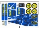 Part No: 7066stk02  Name: Sticker for Set 7066 - Sheet 2 (96458/4626005)