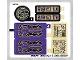 Part No: 70749stk01b  Name: Sticker Sheet for Set 70749 - North American Version - (19567/6100359)