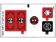 Part No: 70756stk01b  Name: Sticker Sheet for Set 70756 - North American Version - (19576/6100378)