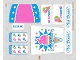 Part No: 70804stk01  Name: Sticker Sheet for Set 70804 - (16443/6061084)