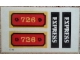 Part No: 726stk01  Name: Sticker for Set 726 - (4746)