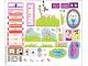 Part No: 7586stk01  Name: Sticker for Set 7586 - Sheet 1 (62281/4521543)