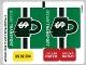 Part No: 76015stk01b  Name: Sticker Sheet for Set 76015 - North American Version - (17754/6075328)