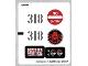 Part No: 76041stk01b  Name: Sticker Sheet for Set 76041 - North American Version - (20699/6108139)