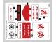 Part No: 76049stk01  Name: Sticker Sheet for Set 76049 - (25739/6142588)