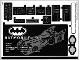 Part No: 76139stk01  Name: Sticker for Set 76139 - (65323/6280006)