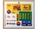 Part No: 7641stk01  Name: Sticker Sheet for Set 7641 - (86465/4550513)