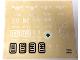 Part No: 7710stk01c  Name: Sticker Sheet for Set 7710 - First Version - (191885)