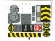 Part No: 7781stk01  Name: Sticker Sheet for Set 7781 - (56710/4297013)