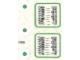 Part No: 7822stk02  Name: Sticker Sheet for Set 7822 - Sheet 2 (191996)