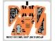 Part No: 8101stk01  Name: Sticker for Set 8101 - (58512/4500385)