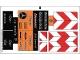 Part No: 8110stk01  Name: Sticker for Set 8110 - Sheet 1 (95746/4622303)