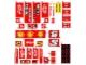 Part No: 8157stk01  Name: Sticker Sheet for Set 8157 - (63058/4527033)