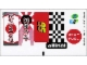 Part No: 8206stk01a  Name: Sticker Sheet for Set 8206 - (96148/4624296)