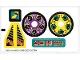 Part No: 8233stk01  Name: Sticker for Set 8233 - (71821/4114300)
