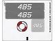 Part No: 8426stk01  Name: Sticker Sheet for Set 8426 - (96192/4624494)