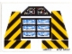 Part No: 8460stk01  Name: Sticker for Set 8460 - (169765)