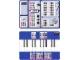 Part No: 8479bar01  Name: Code Pilot Bar Code Sheet, laminated, 2 sided (paper size A3)