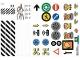 Part No: 853921stk05  Name: Sticker for Set 853921 - Sheet 5 (853921/6255894)