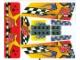 Part No: 8651stk01  Name: Sticker Sheet for Set 8651 - (53458/4270595)