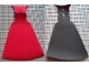 Part No: 87785  Name: Cloth Cape, Zurg Large Figure Pointed Collar with Red and Black Sides