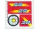 Part No: 8829stk01  Name: Sticker Sheet for Set 8829 - (168305)
