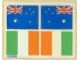 Part No: 939stk03  Name: Sticker Sheet for Set 939 - Sheet 3, Flags for AU, IE - (004219)