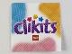 Part No: Clikits300pb01  Name: Clikits Paper Thin, Insert 4 x 4 for Frame clikits011, 'Clikits' Logo