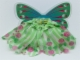 Part No: belvskirt06  Name: Belville, Clothes Fairy Skirt - Flower Pattern with Butterfly Wings