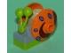 Part No: bob004  Name: Snail, Spongebob Squarepants with Orange Shell (Gary)