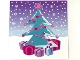 Part No: clikits130pb12  Name: Clikits Paper, Insert 10 x 10 for Frame clikits069, Christmas Tree