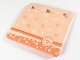 Part No: clikits305pb01  Name: Clikits Paper, Notepad with 3 Holes with Flowers Pattern