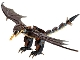 Part No: horntail03  Name: Dragon, Harry Potter (Hungarian Horntail, Dark Brown Wings) - Brick Built