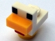 Part No: minechicken03  Name: Minecraft Chicken, Baby - Brick Built
