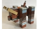 Part No: mineravager01  Name: Minecraft Ravager - Brick Built